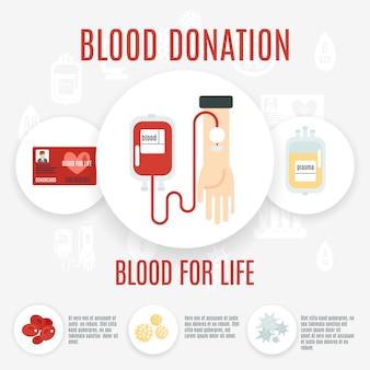 Значок донора крови