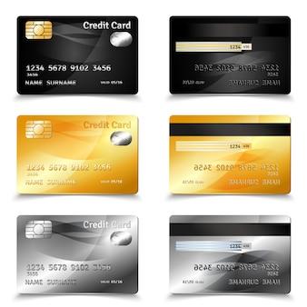 クレジットカードのデザイン