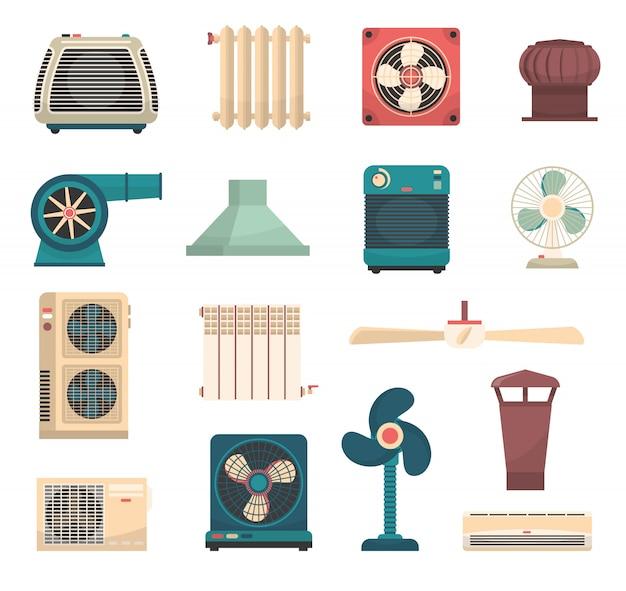 Комплект систем отопления и кондиционирования