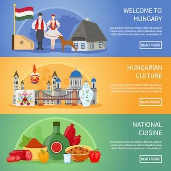 Добро пожаловать в венгрию баннеры