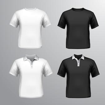 Рубашка макете коллекция