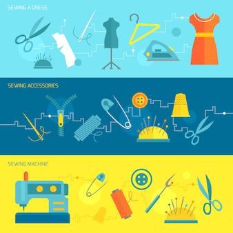 縫製バナー