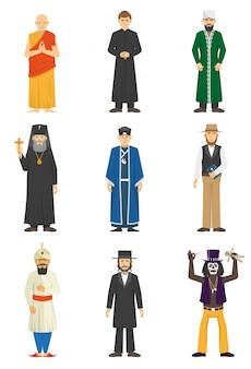 宗教の告白の人々