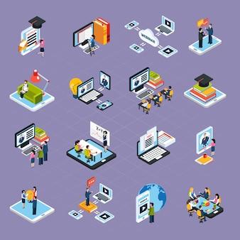 Набор иконок для веб-семинаров