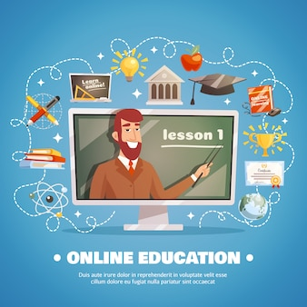 Концепция дизайна онлайн образования