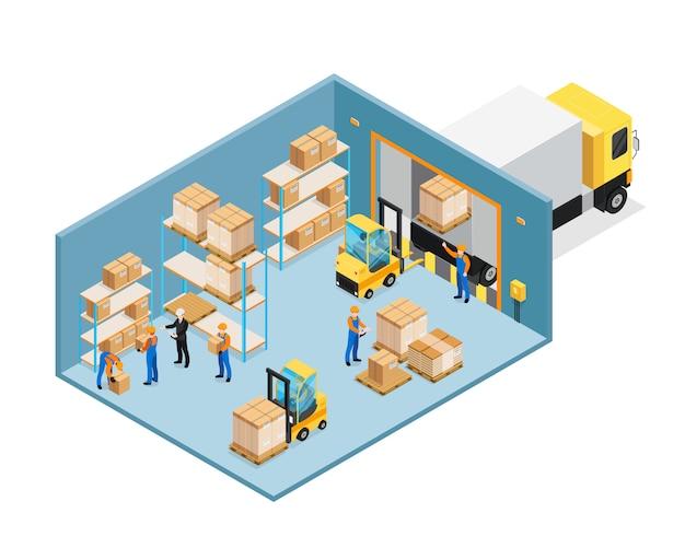 等尺性組成物内の倉庫