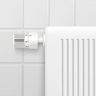 Радиатор отопления горячей водой