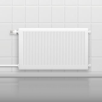 Радиатор с горячей водой