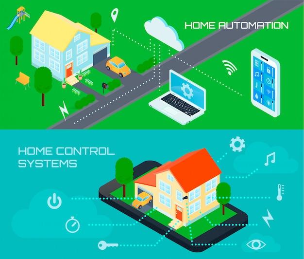 スマートホームオートメーション制御システム