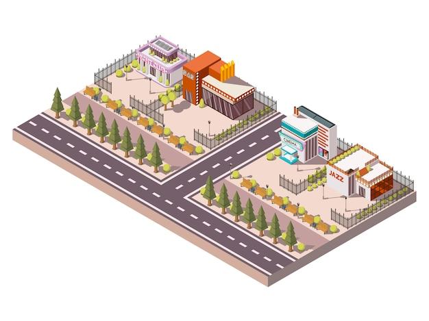 エンターテイメント場所の構成