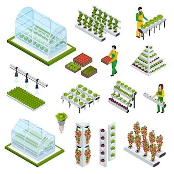 水耕栽培のアイコンを設定