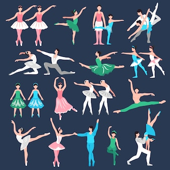 Набор балерин