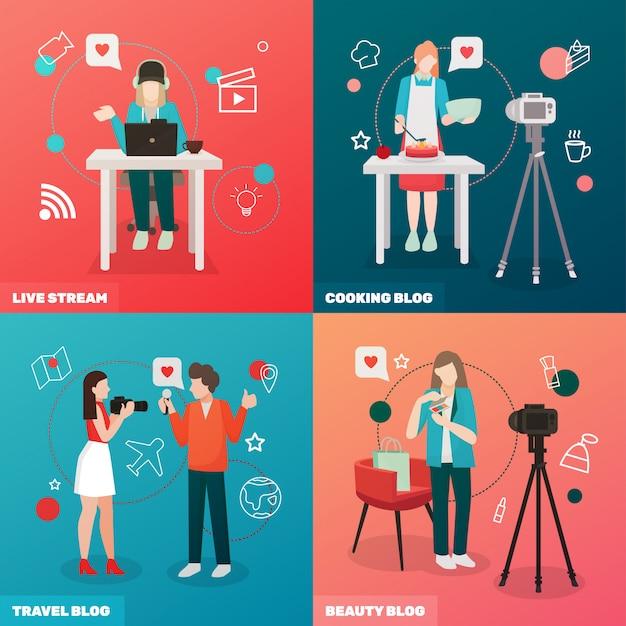Концепция видео блогов