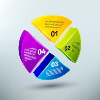 Абстрактные элементы дизайна инфографики бизнеса