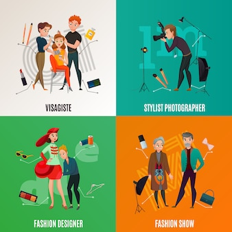 Концепция индустрии моды
