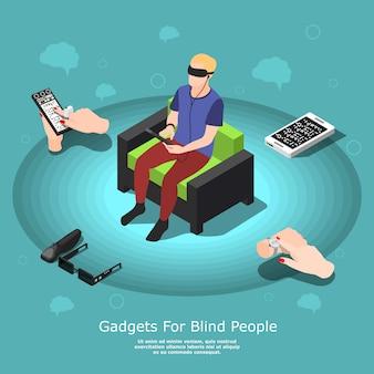 視覚障害者向けのガジェット