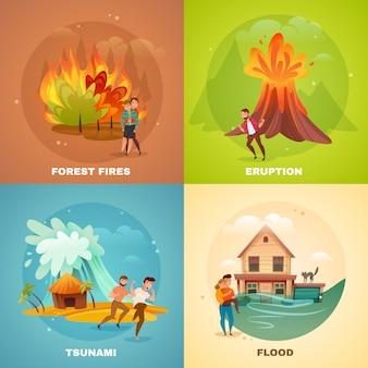 自然災害の概念