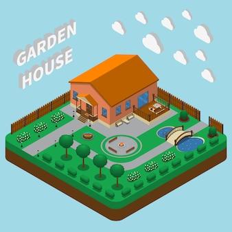 Загородный дом изометрические