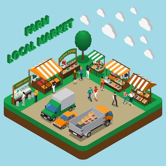農産物市場