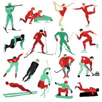 Комплект зимних видов спорта