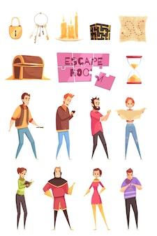 Умная игра декоративные иконки и набор персонажей