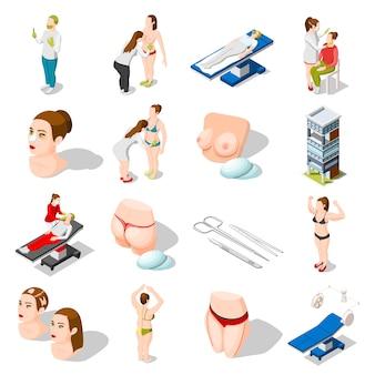 Пластическая хирургия изометрические иконы