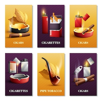 たばこ製品カードセット