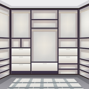 空の収納室