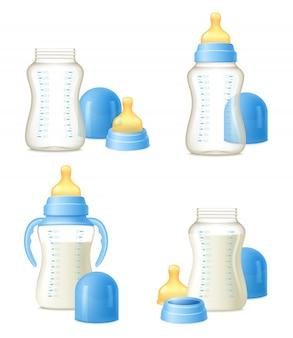 哺乳瓶現実的なコンストラクターセット