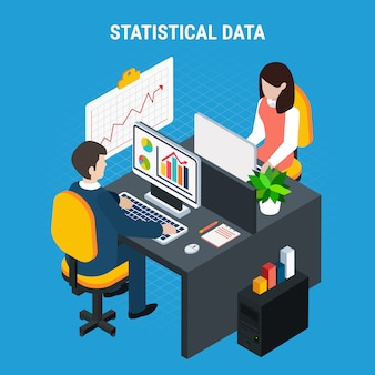Статистические данные изометрические
