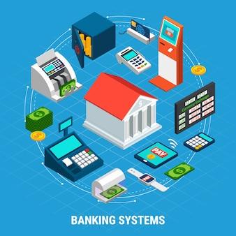 銀行システムのラウンド構成