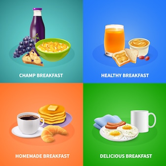 Реалистичный завтрак