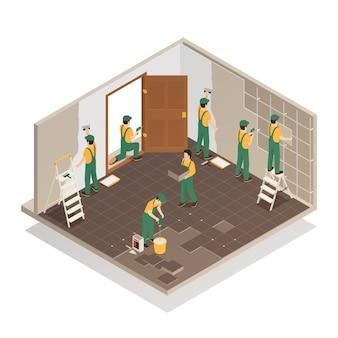 家の改修等尺性組成物