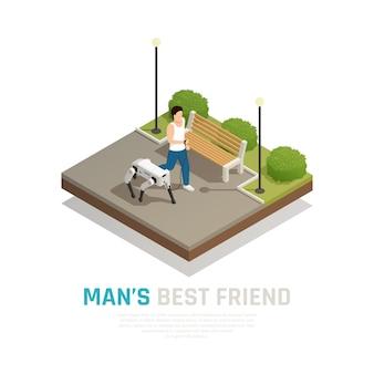 ロボット犬等尺性組成物