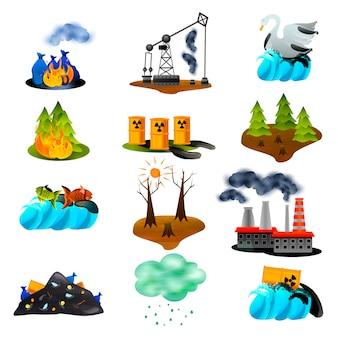 Экологические проблемы поставлены
