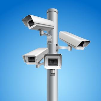 監視カメラピラー
