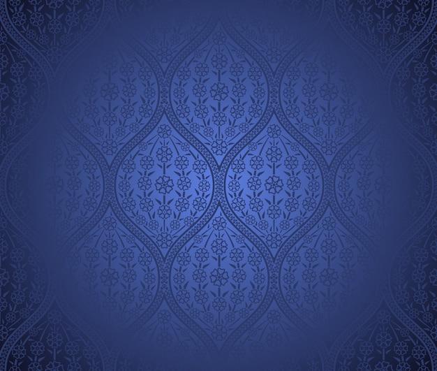 シームレスなモロッコパターンの背景
