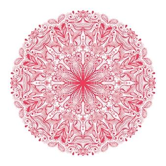 装飾的な丸い模様