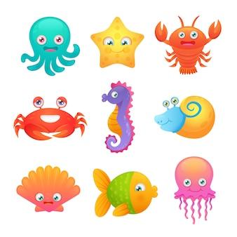かわいい海の動物