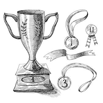 Набор трофеев