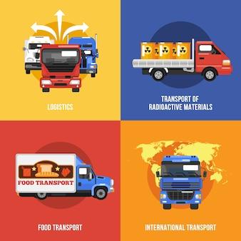 Значки грузовиков