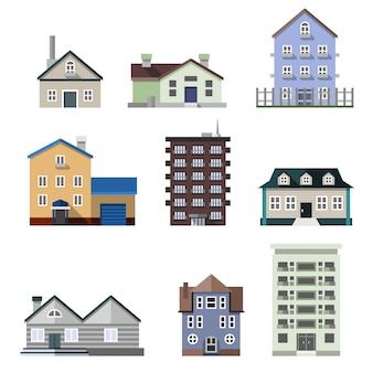 住宅の建物