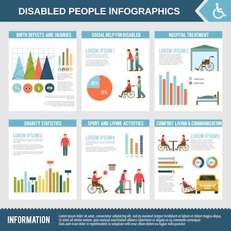 障害者インフォグラフィックスセット