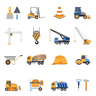 Набор иконок для строительства