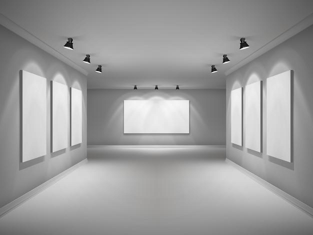 Галерея интерьер реалистичный