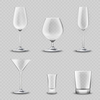 ガラス製品透明セット