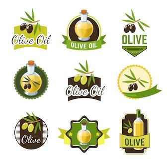 Оливковые значки