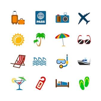 Летняя коллекция иконок