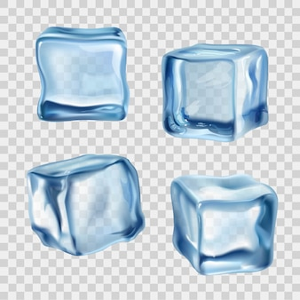 アイスキューブブルー透明