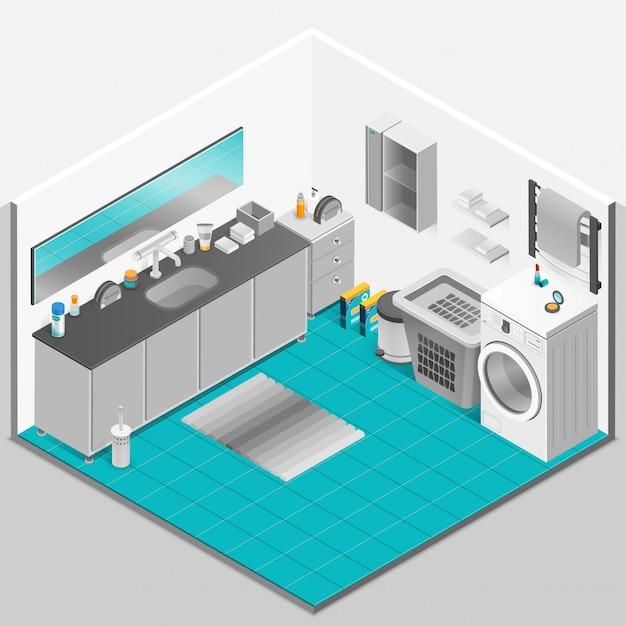 バスルームのインテリアデザイン